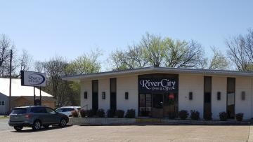The front of our print shop/office supply.  Come by and see us at 684 Harrison Street in Batesville, Arkansas!